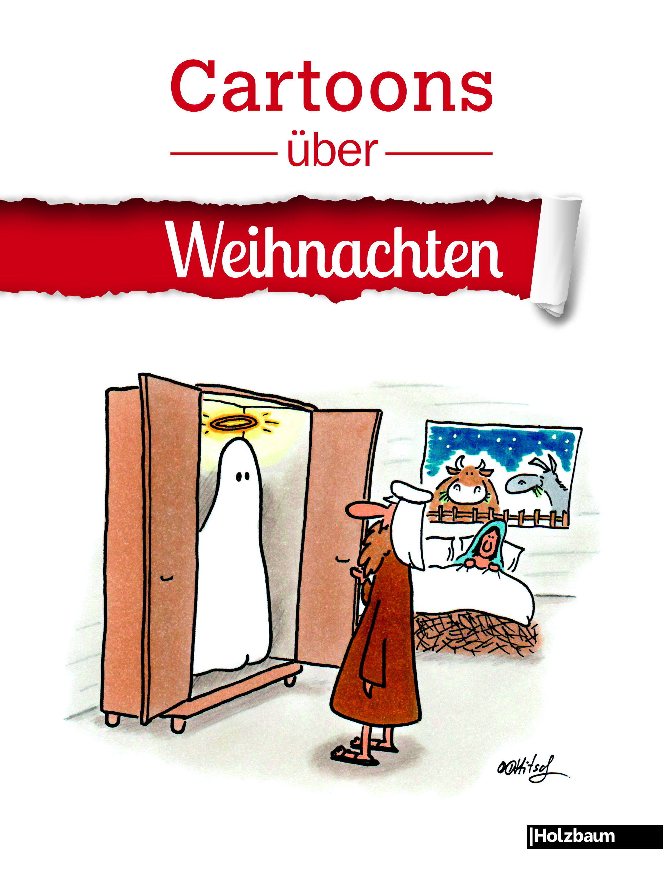 cartoons ber weihnachten holzbaum verlag. Black Bedroom Furniture Sets. Home Design Ideas